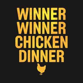 Winner Winner Chicken Dinner Distressed Gold Winner Winner Chicken Dinner Chicken Dinner Dinner Quotes