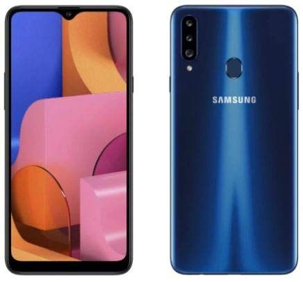 Samsung Galaxy A20s A207 Ds 32gb 3gb Ram Dual Sim 6 5 Hd Snapdragon 450 Factory Unlocked International Version Blue Dual Sim Samsung Galaxy Samsung