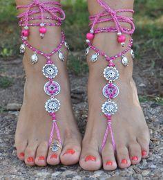 MANDALA de amor descalzos sandalias rosas joyería de los  MANDALA de amor descalzos sandalias rosas joyería de los