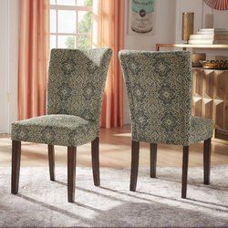 Sture Damask Upholstered Dining Chair Dining Chairs Wayfair