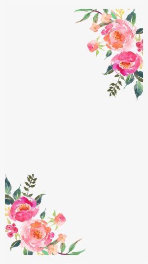 Corner Flower Transparent Corner Flower Design 1645109 Flower Frame Png Flower Drawing Flower Frame