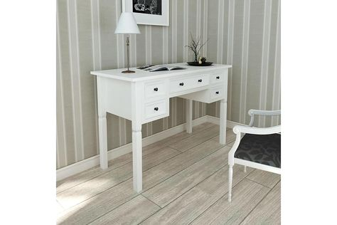 Skrivbord Svart 130x60x75cm Alezzi Svart Mobelkungen.se