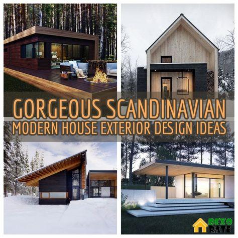 30 Gorgeous Scandinavian Modern House Designs For Perfect