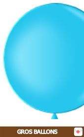 gros ballons latex 90 cm #bleu #ballon #grosballon #party