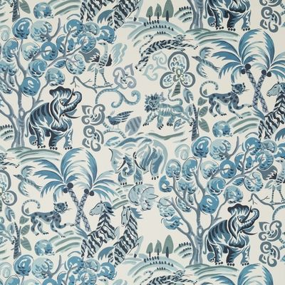 Duralee Fabric Dp42640 563 Lapis Persian Blue Blue Fabric
