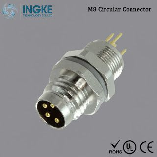 Substitute T4042014041 000 M8 Circular Connector Ip67 Male Plug 4pin Circular Connector Plugs