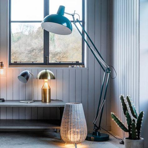 Kings Road 170cm Swing Arm Floor Lamp Office 2017 In 2019