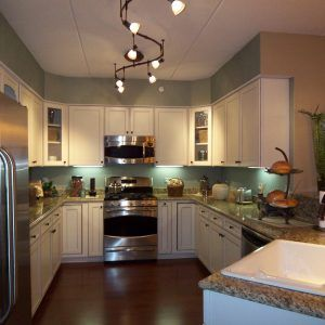 Small Kitchen Track Lighting Ideas New Condo In