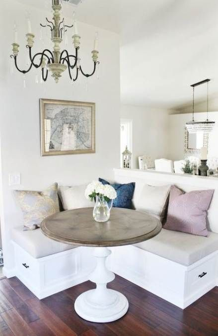 Kitchen Table Round Diy Corner Bench 30 Ideas For 2019 Dining