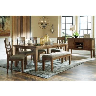 Benchcraft Flaybern D595 6 Pc Dining Set Formal Dining Room Sets
