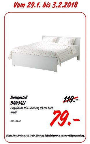 Ikea Brusali Bettgestell Bettgestell Bett Ikea