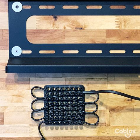 Setting up your Entertainment Center can now be easier! With Cablox you can organize your behind the senes cables and cords in 3 steps.#organizedbycablox #Organizingtips #Officespaces #organizationgoals #organizedhome #Cablemanagement #Computerdesk #computeraccessories #cordorganization #Deskorganization #Deskspace #declutter #Declutteryourhome #Deskspace #Entertainmentcenter #Entertainmentcenter #Homestudiosetup #Homeorganization #gamingcomputer #gamingsetup #gamingroom #livingroomorganization