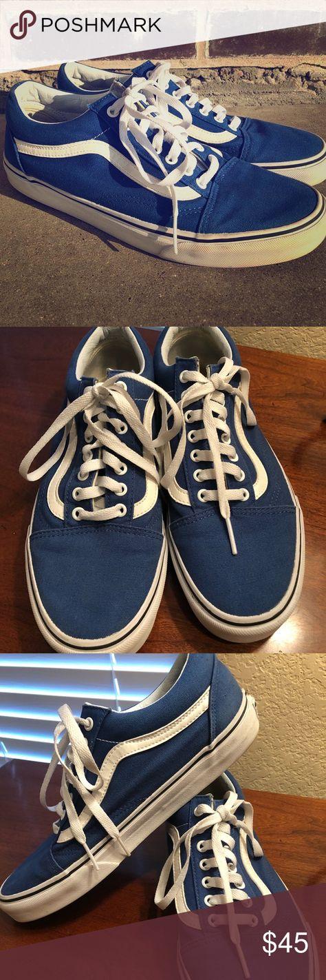 the latest 416db c3b45 Men s Old Skool Vans Royal Blue 10 Men s Old Skool Van Sneakers. Size 10.