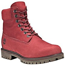 timberland chaussure homme rouge