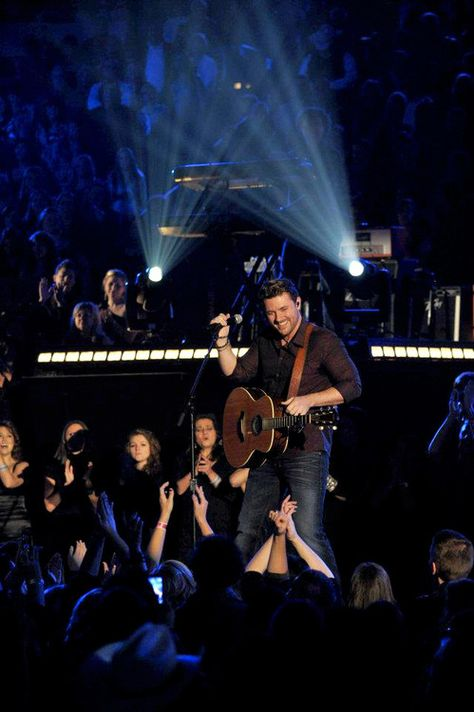 """He's tearing up the country charts - and now the Katie stage!! Chris Young sings """"I Can Take It From There"""" on the show today!"""
