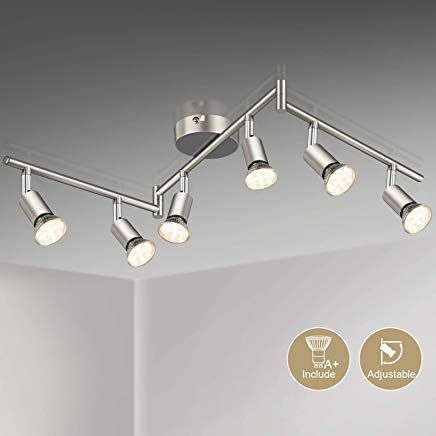 moderne Decken Lampe Wohn Schlaf Zimmer Leuchten 5-flammige Flur Dielen Strahler