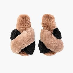 factory outlet picked up reputable site AoverA by Ariana Bohling® Cam platform sandals | Alpaca slippers ...