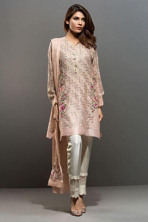 Picture of Cotton net kamdani shirt