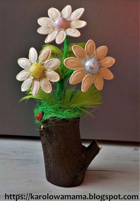 Zabawa Jest Nauka Nauka Zabawa Im Wiecej Zabawy Tym Wiecej Nauki Glenn Doman Kwiaty Z Pestek Dyni Planter Pots Plants Planters