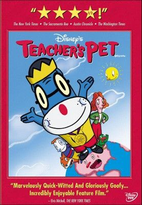 Teacher S Pet Dvd Teacher Pet Dvd Teachers Pet Disney Movies Anywhere Disney Movies To Watch