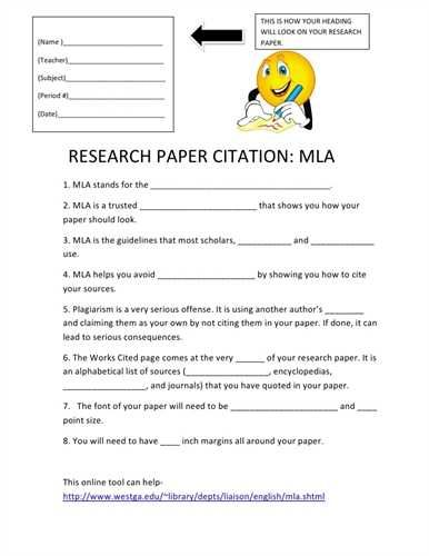 Site For Research Papers Research Paper Mla Citation Citation Format
