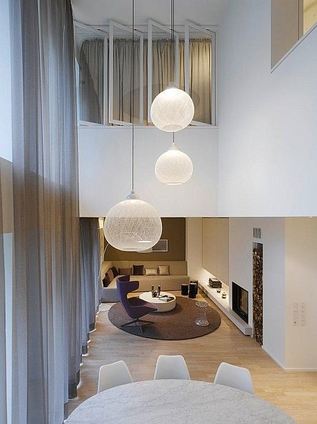 Quant 1 Residence By Ippolito Fleitz Group Homeadore Living Room Designs Living Room Lighting Interior Design