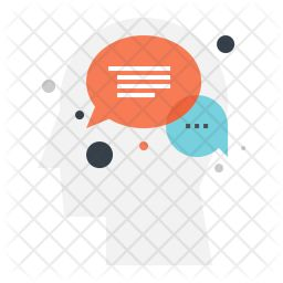 Communication Conversation Dialogue Icon Icon Pack Icon Font Icon Design