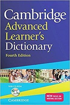 GRATUITEMENT CAMBRIDGE DICTIONARY LEARNERS TÉLÉCHARGER ADVANCED