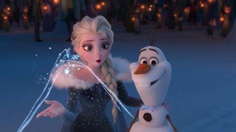 Olaf's Frozen Adventure (2017) - Animation Screencaps