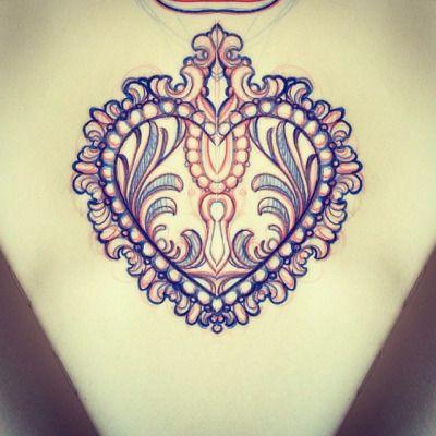 #heart #heartlock #tattoo next week