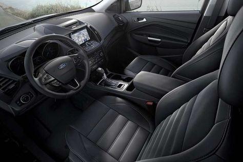 2017 Ford Escape Titanium Interior In Charcoal Black Ford Escape 2017 Ford Escape Ford