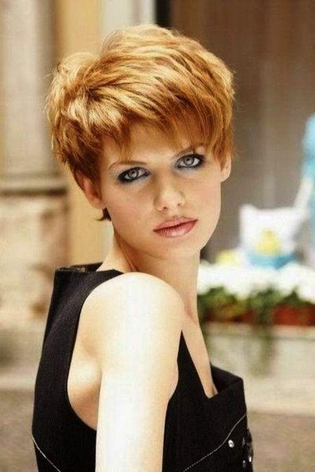 Flotte Kurzhaarfrisuren Für Damen Ab 50 Frisuren Pinterest