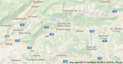 Kohteen 6351 Scheffau Am Wilden Kaiser Itavalta Kartta Itavalta