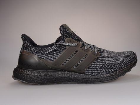 52c7f8f9169b1 Adidas Ultra Boost 3.0 Black Silver Sz. 9.5