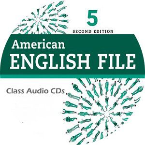 American English File 5 2nd Edition Class Audio Cd5 English File