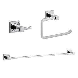 Bathroom Hardware Sets You Ll Love Wayfair Bathroom Hardware Set Bathroom Hardware Polished Chrome