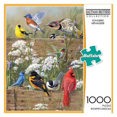 Buffalo Games Songbird Favorites Hautman Brothers 1000 Piece Jigsaw Puzzle