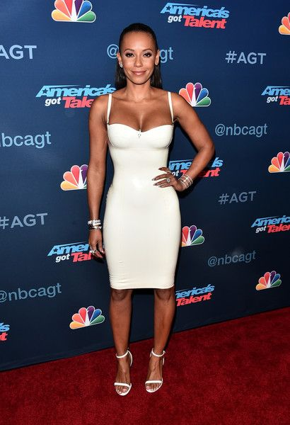 TV personality Mel B attends the 'America's Got Talent' Season 11 Live Show in Hollywood.