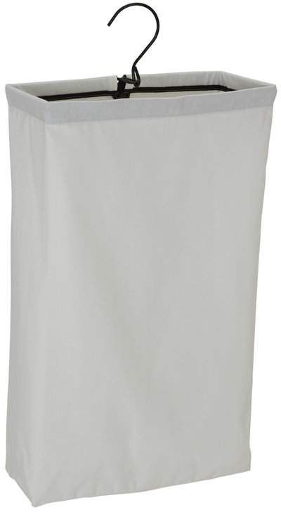 Dotted Line Hanging Hamper Laundry Bag With Trim In 2020