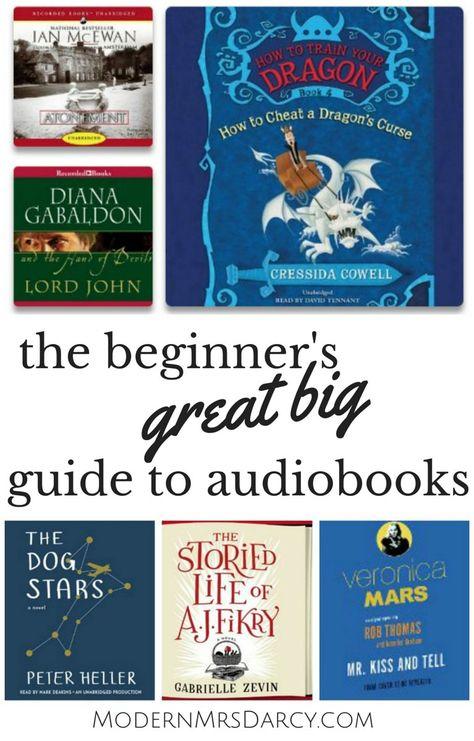 The Beginner S Great Big Guide To Audiobooks Audiobooks Reading For Beginners Books