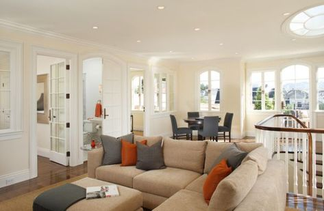 Decorating With Orange Accents Inspiring Interiors Living Room Orange Tan Couch Living Room Beige Living Rooms