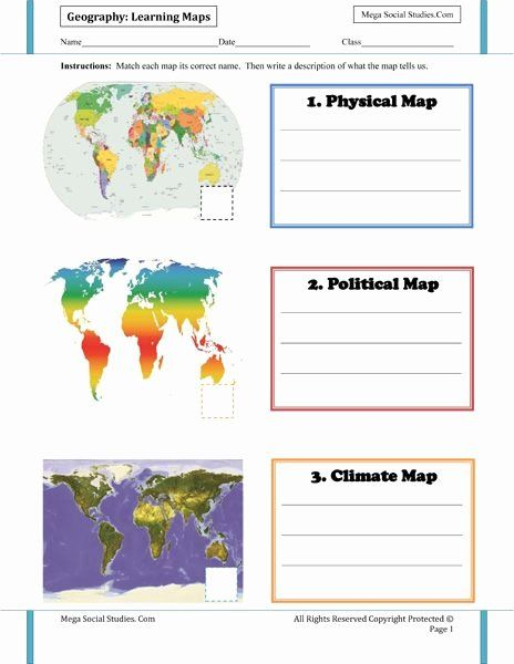 Types Of Maps Worksheets For Kids Ideas Geography For Kids Worksheets Mega Social Stu S Geography For Kids Social Studies Social Studies Worksheets 5th grade geography worksheets