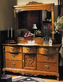 Lexington Victorian Sampler Side By Side Vanity | Bedroom .