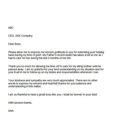sample appreciation letter boss for support Home Design Idea - thank you letter for promotion
