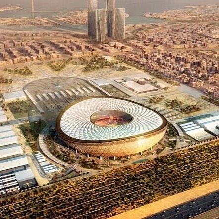 Lusail Stadium The Main Stadium Where The Finals For Fifa2022 World Cup Will Be Held An Engineering Marvel With A Fa Facade Engineering World Cup 2022 Stadium