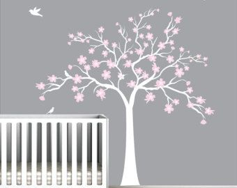 Tree Wall Decals Wall Stickers Tree Decal Owl on Tree by NouWall