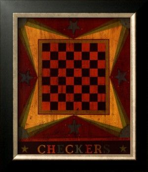 Warren Kimble, Checkers