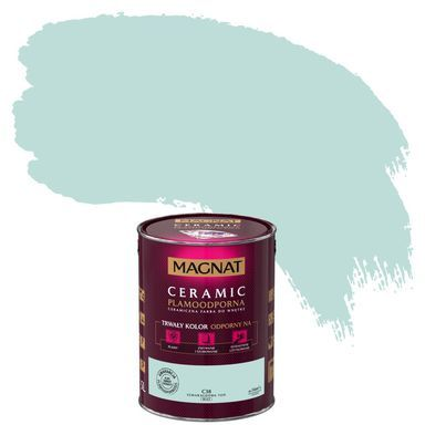 Farba Wewnetrzna Ceramic 5 L Szmaragdowa Ton Magnat Farby Scienne Kolorowe W Atrakcyjnej Cenie W Sklepach Leroy Merlin Ceramics