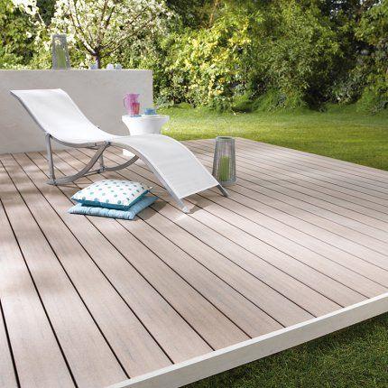 Lame de terrasse bois composite Emotion Lisse Cod - prix d une terrasse en bois