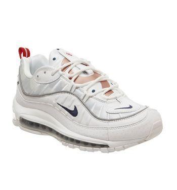 Womens Nike Air Max 720 White Midnight Navy Rose Gold Wwc Uk